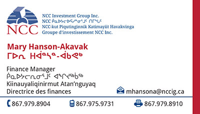 Mary Hanson-Akavak - Finance Manager