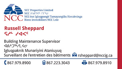 Russell Sheppard - Building Maintenance Supervisor